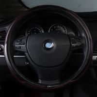 Car steering wheel cover genuine leather accessories For Acura mdx rdx alfa romeo 147 156 159 audi A1 A7 Q2 Q5 Q7 2016