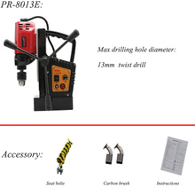 Multi-function Magnetic Drill Positive And Negative Magnetic Seat Drill Tapping Machine Iron Drilling Machine PR-8013E