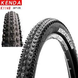 KENDA K1148 велосипедных шин Mountain MTB Велоспорт противоскользящие велосипед шины 26x1,95 60TPI pneu bicicleta части