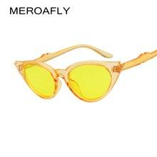 MEROAFLY 2018 Women Cat Eye Sunglasses Red Frame Women Brand Designer Ladies Sun glasses Vintage Sexy Eyewear Shades UV400