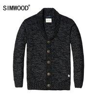 SIMWOOD 2016 New Autumn Winter Cardigan Men Fashion Casual Sweater Fashion Long Sleeve Brand Clothing MY2044