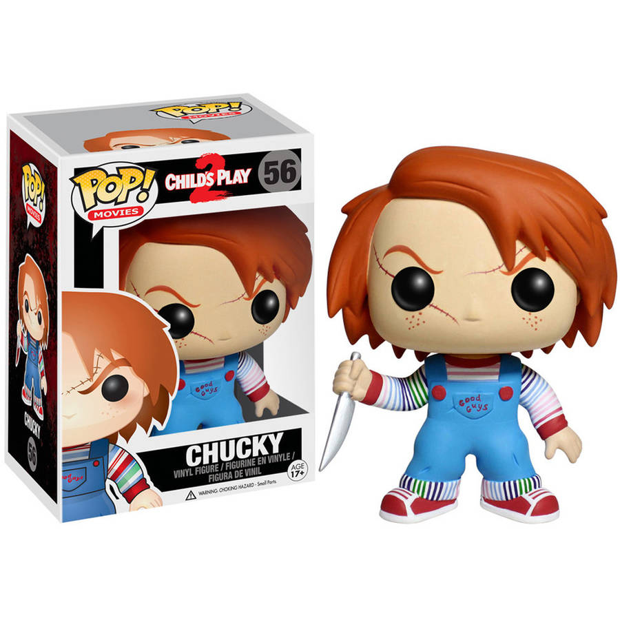 Funko pop Official Horror Movies: Bride of Chucky Child's Play 2 - Chucky Vinyl Figure Collectible Model Toy with Original Box