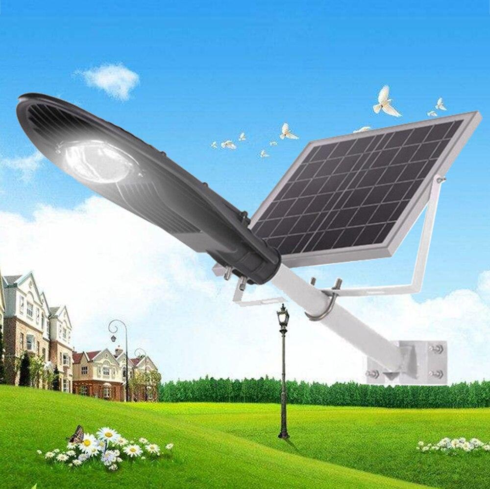 New Design Waterproof Rainproof Ip65 12w Led Solar Light Street Lamp Lightsolar With 12 24v Circuitsolar 20w 30w Power Panel Garden Road Park Energy