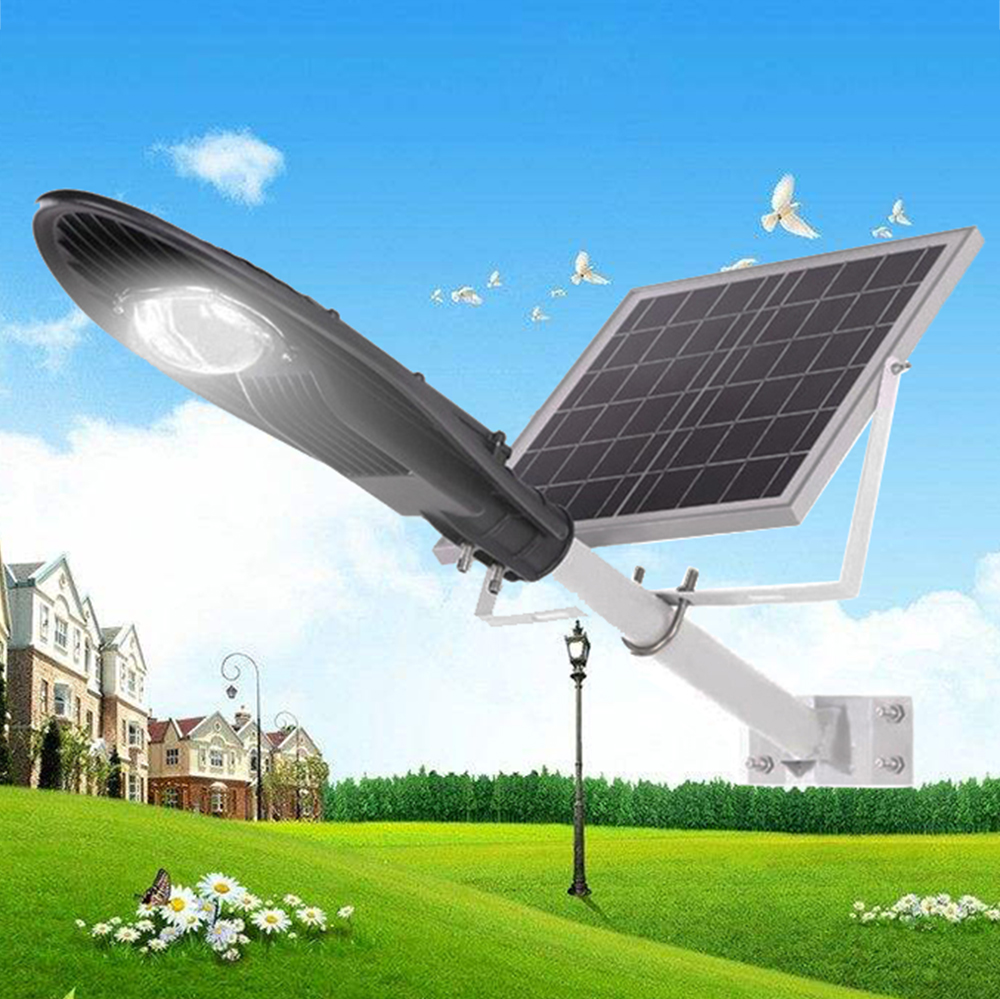Us 141 2 20w 30w Solar Led Street Light Panel Garden Road Park Energy Saving Lamp Remote Control In