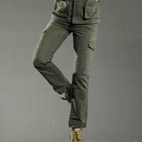 Free Army Brand High Quality Plus Size Casual Fashion 2015 Pants Women Skinny Full Length Army