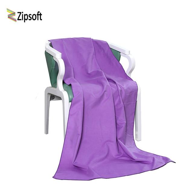 Zipsoft Brand Beach towel Microfiber Bath Towels Yoga Mat Compact Travel Gym Sports Camping Swimming Pool 2017 quick drying Soft