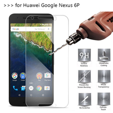 2.5D 0.26mm 9H Premium Tempered Glass For Huawei Nexus 6P Screen Protector Toughened protective film For Google Nexus 6 Glass *