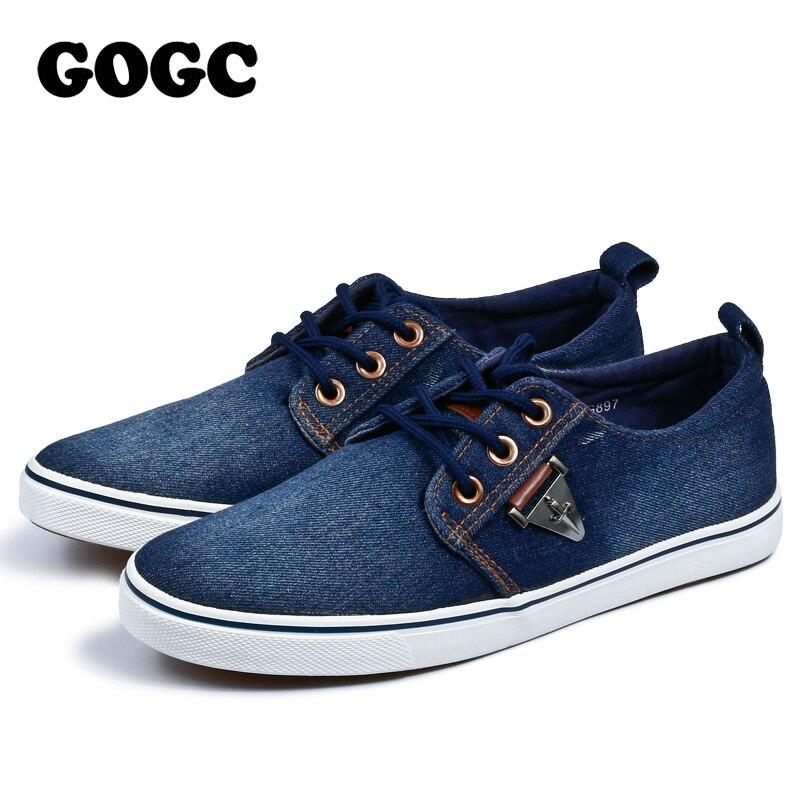Blue Vulcanisées blue Mode De La Sneakers 2019 Nouveau Hommes Appartements À Gogc Pour Mocassins Slipony Loisir Respirant Chaussures Lacets Dark UZHgwz