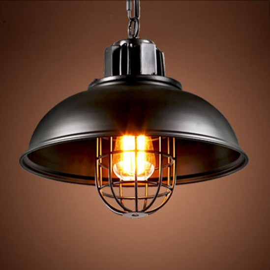American Loft Style Iron Droplight Edison Industrial Vintage Pendant Light Fixtures For Dining Room Hanging Lamp Lampara american loft red iron art droplight edison industrial vintage pendant light fixtures for living dining room bar hanging lamp