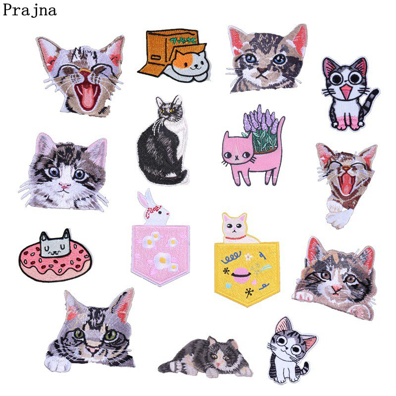 Buy patch smile cat and get free shipping on AliExpress.com 19aafbfb111a