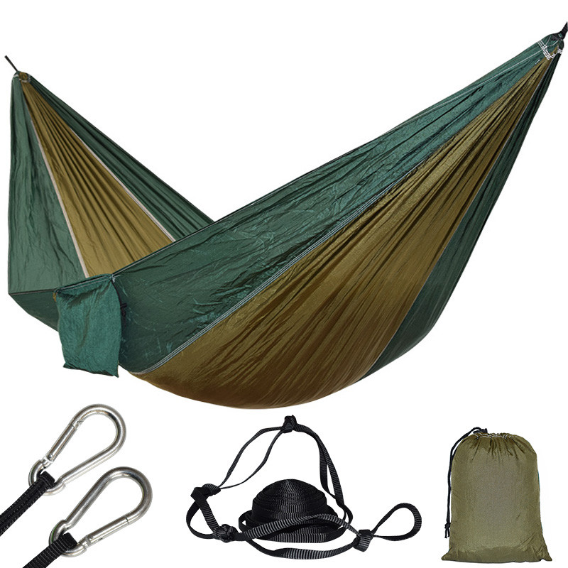 1 Person Parachute Hammock For Single Outdoor Hunting Survival Portable Hamac Garden Yard Patio Leisure Hanging