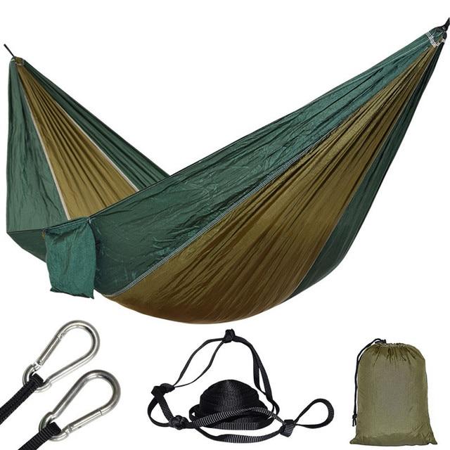 1 Person Parachute Hammock For Single Outdoor Hunting Survival Portable Hamac Garden Yard Patio Leisure Hanging