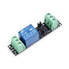 2 шт. 3 В реле высокого уровня модуль драйвера анод релейный модуль для Arduino