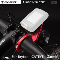 Corki cateye دراجة قوس الكمبيوتر المقود للغارمين حافة 1000 bryton gopro دعم gopro جبل الطريق مقعد الساعة الموسعة
