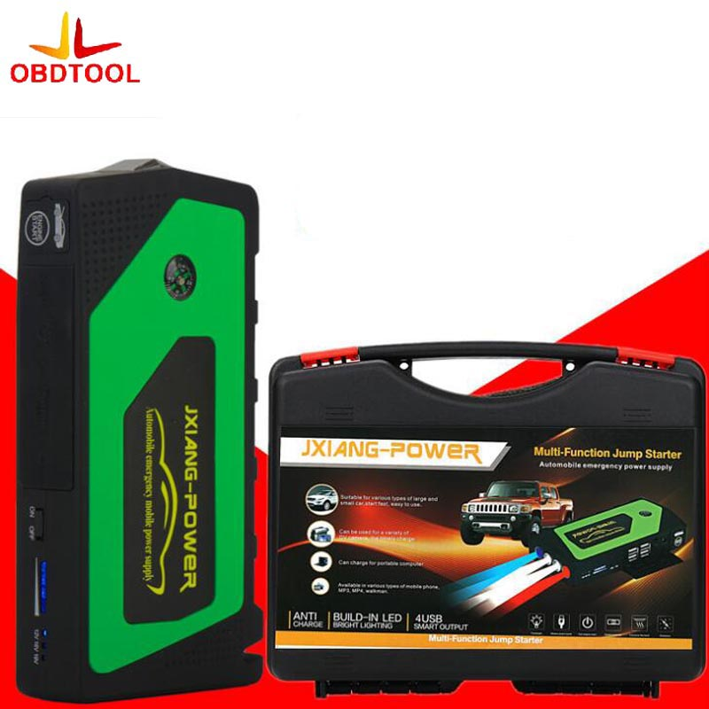 где купить Best Car Jump Starter 69800mAh Portable Power Bank Multi-function Vehicle Start Jumper Emergency Auto Battery Booster 3 Color дешево