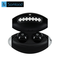Samload True Wireless Earbuds Hifi Bluetooth Earphone TWS Stereo With Mic For IPhone Xiaomi Huawei Charger