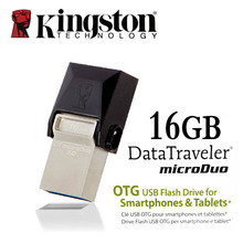 Kingston USB 3.0 pen drive Smartphone Micro Memory 16gb 32gb 64gb Portable Storage Stick microDuo OTG usb flash drive pendrive