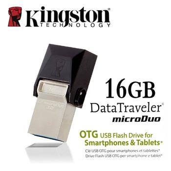 Kingston USB 3.0 pen drive Smartphone Micro Memory 16gb 32gb 64gb Portable Storage Stick microDuo OTG usb flash drive pendrive