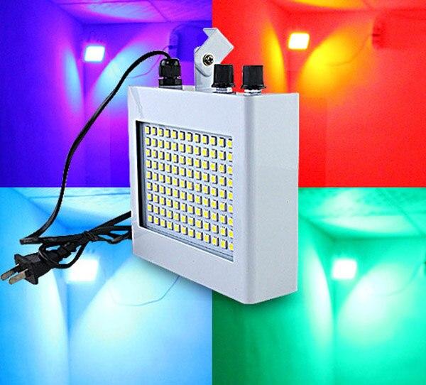 AOBO Lighting RGB colorful disco strobe light dj light show 108 SMD 5050 dj party lights