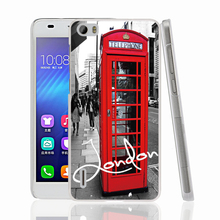 13306 London red telephone house Cover phone Case for sony xperia z2 z3 z4 z5 mini plus aqua M4 M5 E4 E5 C4 C5