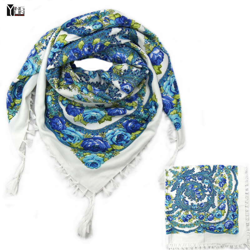 2016 hot sale new fashion woman Scarf square scarves tassel s