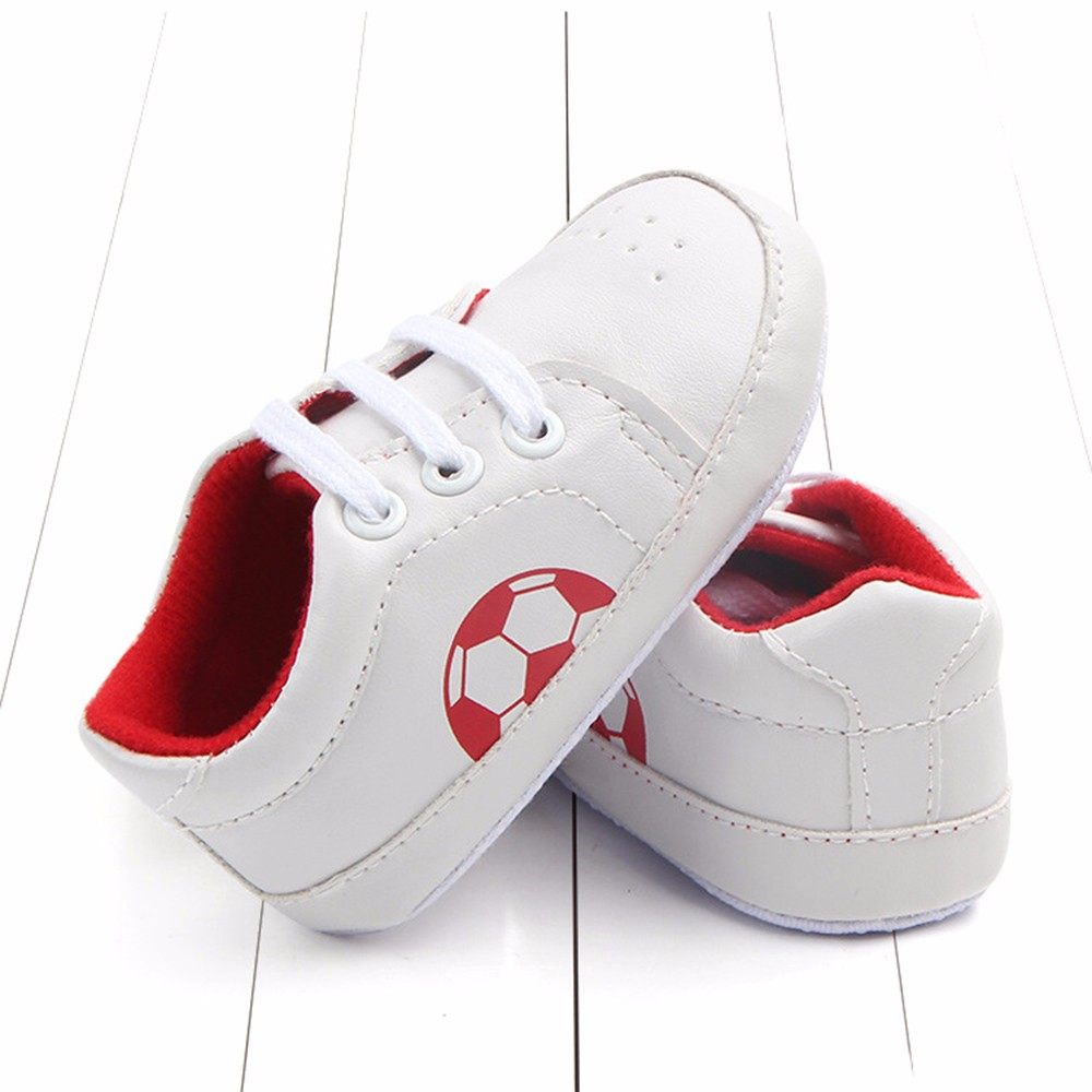 Newborn Infant Toddler shoes Baby Sneaker Anti-slip Football Comfortable Soft Sole Toddler Shoes Spor Ayakkabı1.966