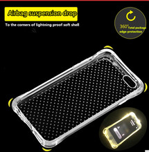 For Apple iPhone 7 6s 5S SE Case Slim Crystal Clear TPU Silicone Protective sleeve for iPhone 6 plus / 6s plus  5 cover cases