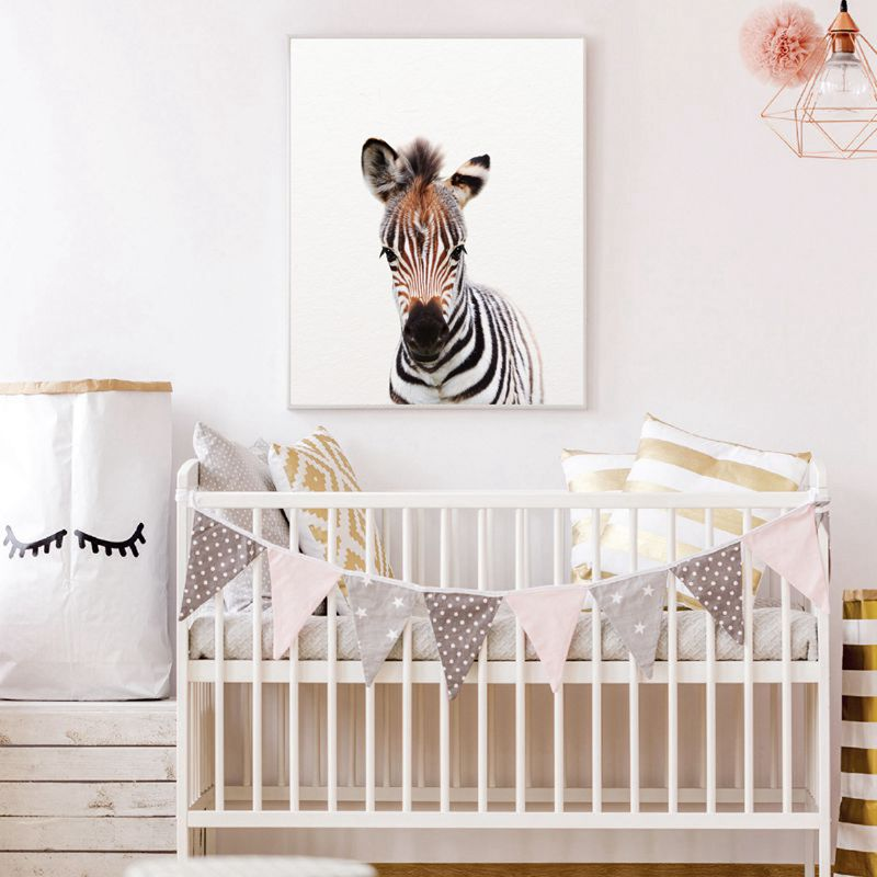 HTB1MZr6XL1TBuNjy0Fjq6yjyXXar Lion Zebra Elephant Giraffe Baby Animals Art Print Poster, Safari Animals Picture Canvas Painting Kids Room Nursery Wall Decor
