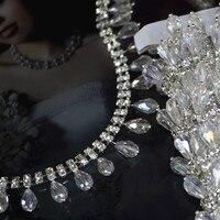 Crystal hanger boor diy handgemaakte naaien op kledingstukken trouwjurk tassen schoenen bling strass accessoires