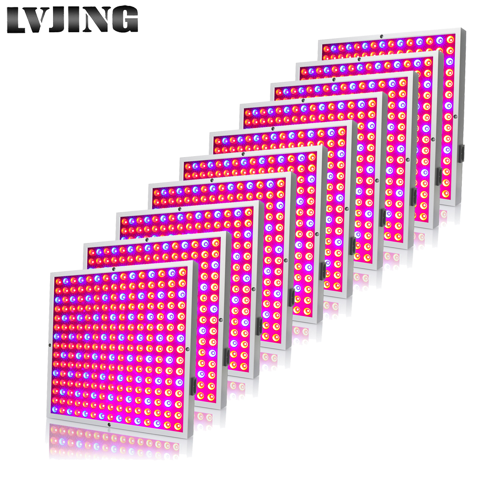 10Pcs Led Fitolamp 45W LED Grow Light Full Spectrum For Indoor Garden Seeds Vegs Plant Grow Tent Phyto Lamps For Plants Flowers