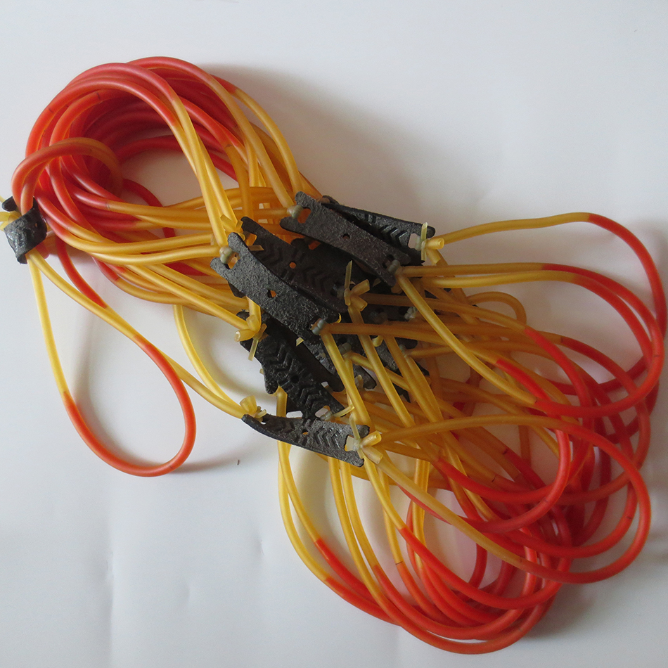 Freeshiping 1 STUK sling shot rubber Latex Vervanging Rubber Band - Jacht - Foto 4