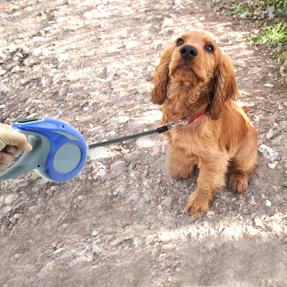 Automatisk tilbagetrækkelig hundebånd reflekterende hunde fører - Pet produkter - Foto 6