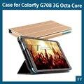 Кожа чехол для Colorfly G708 3 G восьмиядерный 7 дюймов планшетный пк + экран протектор