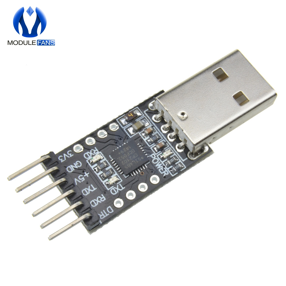 6Pin USB 2.0 to TTL UART Module Serial Converter CP2102 Replace Ft232 Adapter Mo