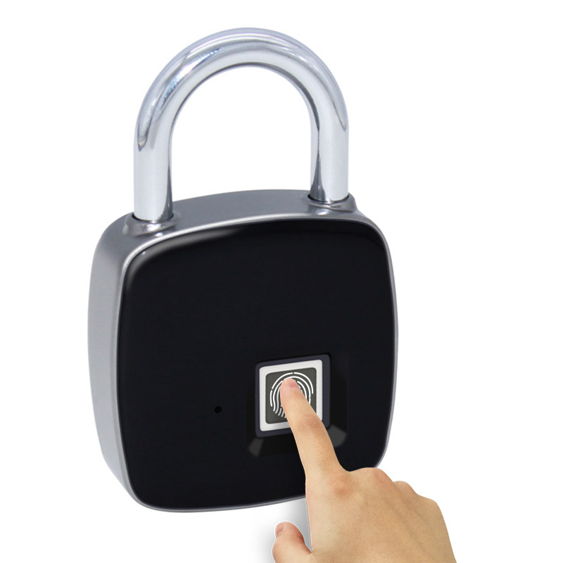 Smart Fingerprint Padlock Safe USB Charging Rechargeable Waterproof Home Factory Office Protable Door Lock-in Electric Lock from Security & Protection on Aliexpress.com | Alibaba Group