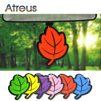 2pc Auto Shine Paper Hanging Car Air Freshener perfumed For Kia Rio 3 4 Ceed Cerato Sorento Chevrolet Cruze Aveo Captiva Lacetti image