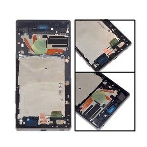 """Image 2 - Adequado para sony xperia z5 premium 5.5 """"lcd digitador da tela de toque para sony xperia z5p z5 plus e6853 e6883 display mais quadro"""