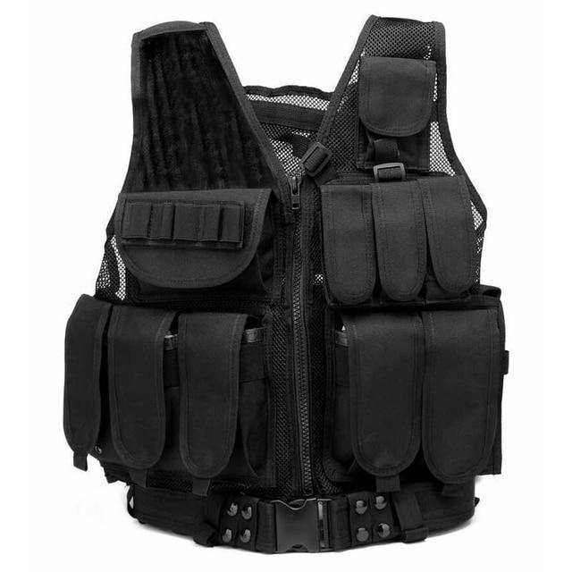 Men Tactical Vest Outdoor...