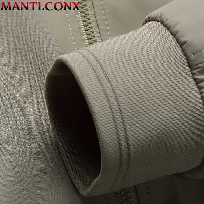 MANTLCONX 남성 자켓 봄 캐주얼 코트 솔리드 컬러 남성 스탠드 칼라 지퍼 자켓 남성 폭격기 자켓 남성 캐주얼 아우터