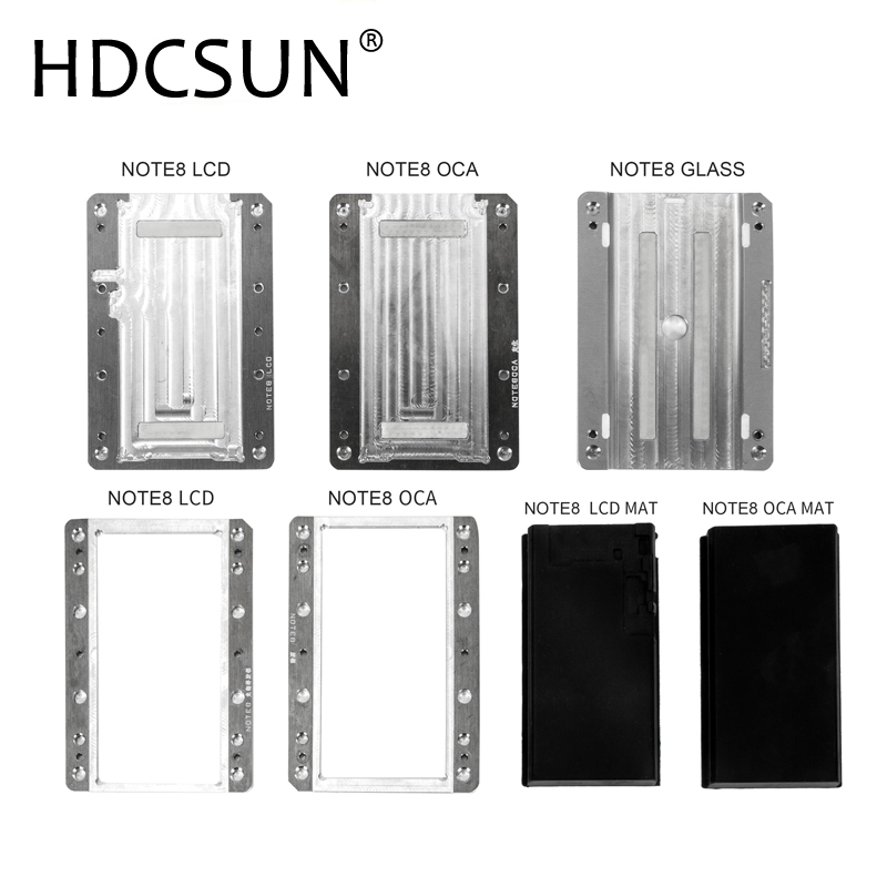 Precision OCA/Glass/LCD Locating and Laminating mold for Samsung Curved Surface for S6 S6+ S7 S8 S8+ Note8 LCD Repair free shipping high precision metal mold mould for samsung s6 edge s7 edge lcd screen laminating mould and alignment mould