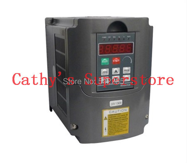 Variable Frequency Drive VFD Inverter 2.2KW 3HP 220V 2.2 kw inverter delta inverter vfd variable frequency drive vfd150b23a 3phase 220v 15kw 20hp 0 1 400hz wood carving