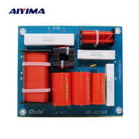 AIYIMA 1Pcs 500W Speaker 3 Way Frequency Divider Crossover Multi Treble Midrange Bass Audio Speakers Filter