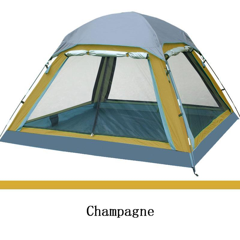 FLYTOP Outdoor Camping Tent 4 person New 2014 Summer Equipment Family Tourism Beach Tents Three-season Double Layer Waterproof good quality flytop double layer 2 person 4 season aluminum rod outdoor camping tent topwind 2 plus with snow skirt