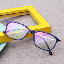 TR90 Glasses Frame Clear Fashion Myopia Glasses Frame Men Optical Eyeglasses Frame Women Prescription Glasses 003 Metal leg цена
