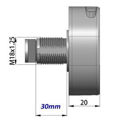 Lock body 30mm