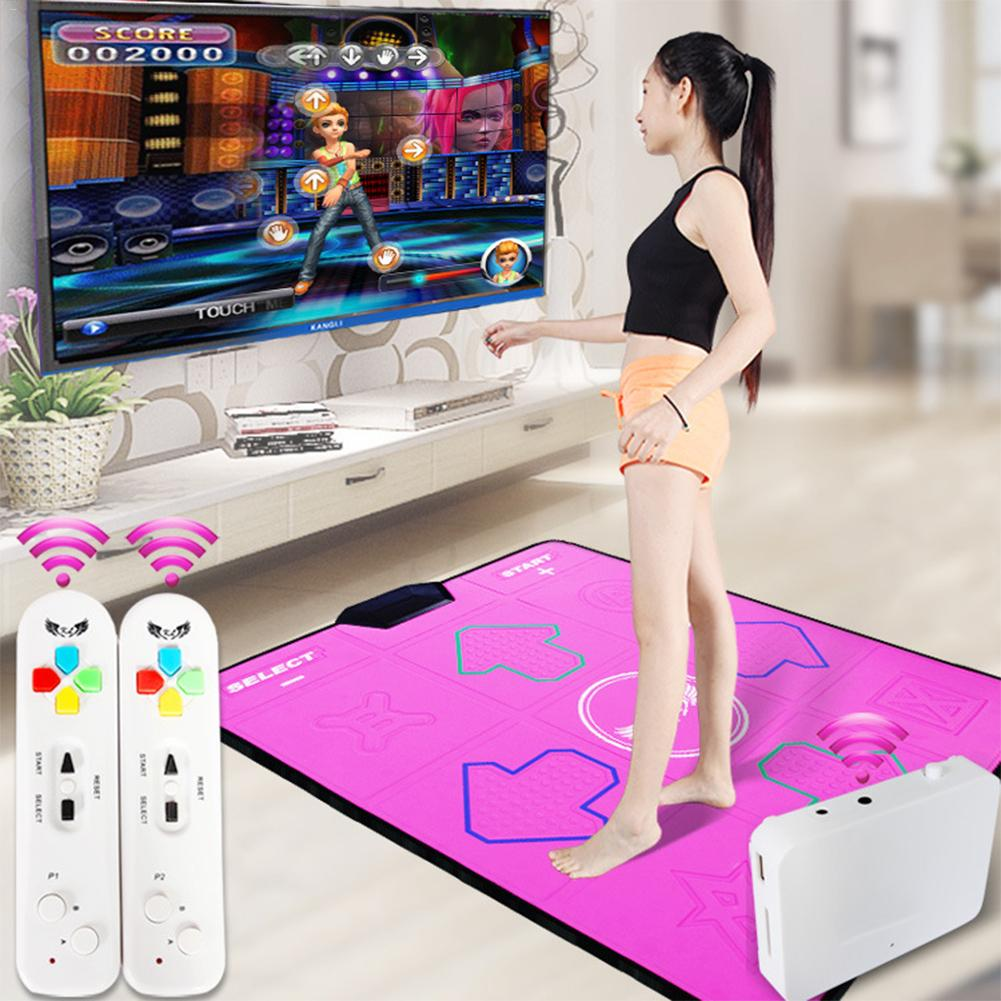 Somatosensory Dance Machine To Lose Weight Exercise Massage Dance Games Computer TV Dual-use Somatosensory Game ConsoleSomatosensory Dance Machine To Lose Weight Exercise Massage Dance Games Computer TV Dual-use Somatosensory Game Console