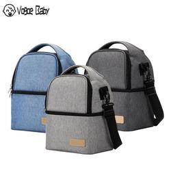 Теплоизоляционная сумка для хранения молока, молокоотсос, кулер для материнства, двухслойный рюкзак для сохранения свежести детской еды, б...