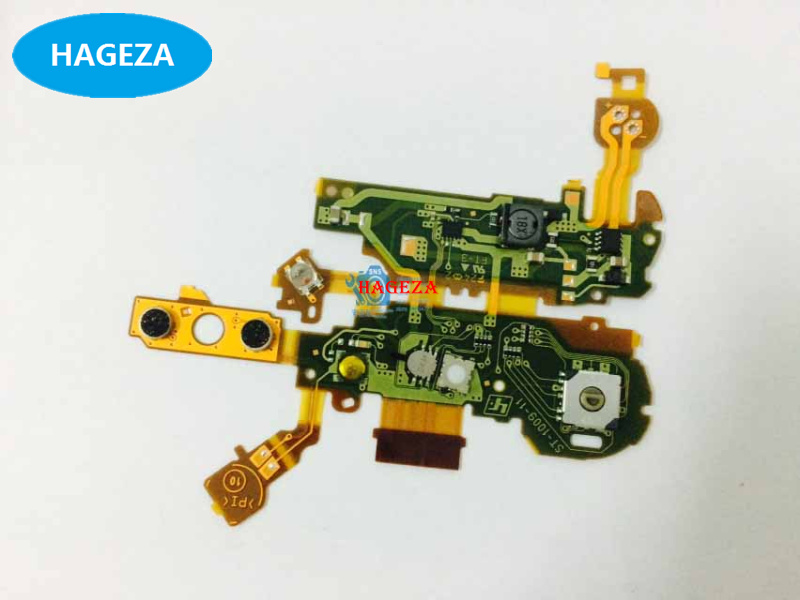 New and Original For <font><b>Sony</b></font> <font><b>WX350</b></font> Flash lamp circuit board assembly Cover switch button FPC Boot zoom unit Camera <font><b>Lens</b></font> Repair Part image