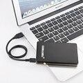 Gobuyba B1 disco duro móvil 500 USB 2.0 discos duros Externos de 2.5 pulgadas cáscara protectora disco De Almacenamiento portátil negro envío gratis