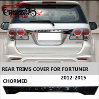 CITYCARAUTO Chromium Styling REAR TRIMS STICKER COVER AUTO ACCESSORIESS CAR STYLE REAR TRUCK COVER FIT FOR